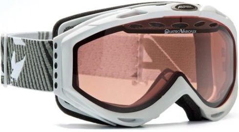 маска горнолыжная ALPINA CYBRIC GTV QLHV 711 (14 г , WHITE A7031)