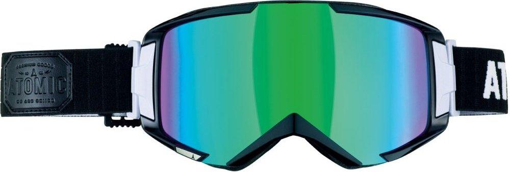 Горнолыжная маска Atomic SAVOR³ цвет Black/Green ML + Xlens AN5105124+ (15г, универсальная)