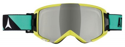 Горнолыжная маска Atomic SAVOR² цвет Lime Green/Amber Mirror AN5105118+ (15г, универсальная)