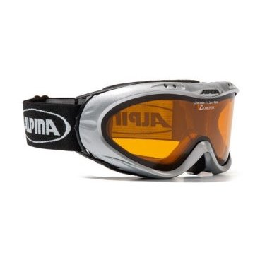 Очки горнолыжные ALPINA OPTICVISION DL hicon (SILVER)