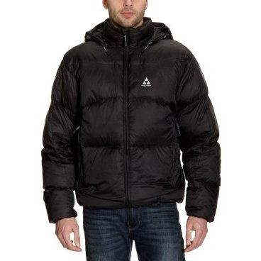куртка пуховая мужская FISCHER DOWN JACKET CLOUD 550 blk/blk (12 г, 56/XXL, black G 11011)