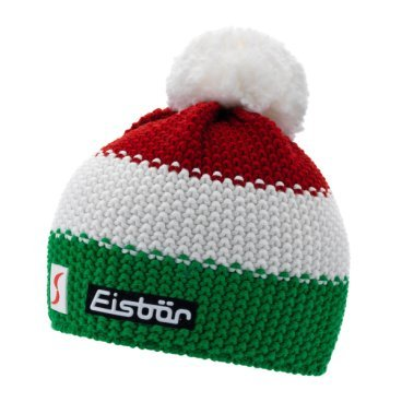 Шапка Eisbear Star Pompon MÜ SP electric/white/ardea,  (17/18, 403346-ITA)