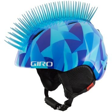 шлем г /л GIRO LAUNCH PLUS BLUE ICEHAWK