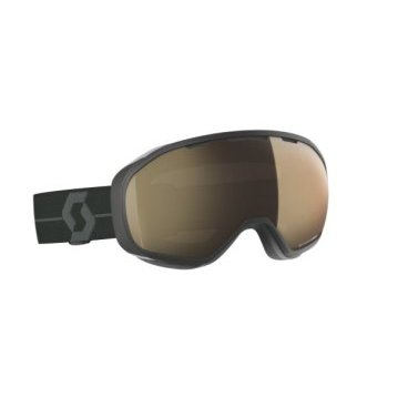 Горнолыжная маска Scott Fix LS black/grey, light sensitive bronze chrome,TU (18/19, 267602-1001245)