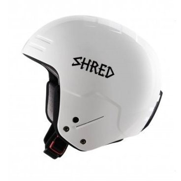 Шлем горнолыжный SHRED BASHER WHITEOUT FIS RH (17/18, DHEBASH22)
