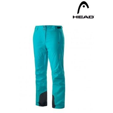 Брюки женские HEAD 2L INSULATED Women Turquoise (17/18, 824257TQ)