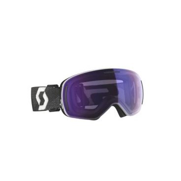 ГОРНОЛЫЖНАЯ МАСКА SCOTT GOGGLE LCG EVO LS WHITE/BLACK LIGHT SENSITIVE BLUE CHROME (19/20, 271805-1035307)