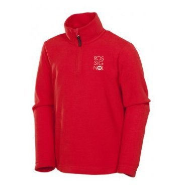 Пулон ROSSIGNOL BOY 1/2 ZIP MICROFLEECE детский (RED, 8 RL2YL02)