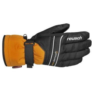 перчатки мужские REUSCH Powderstar R TEXRXT or pop /black (8 4201217)