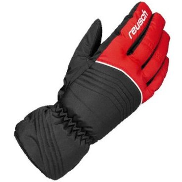 перчатки детские REUSCH Bero R TEXXT jr 302 fire (5.5, black/red 4161244)