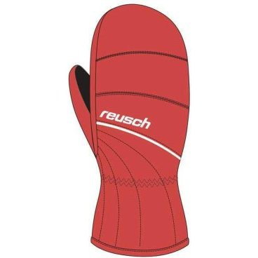 рукавицы детские REUSCH NERO jr MITTEN 301 red (12 г, 4.0, red/white 4061405)