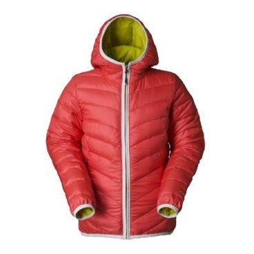 куртка пуховая женская PHENIX Fluffy Hood Jacket (RD/38 ES282OT46)
