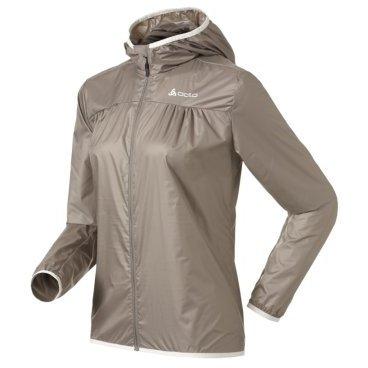 Куртка ODLO женская Windbreaker WHISPER 10328/серо-коричневая, 524 301 (14г, M)