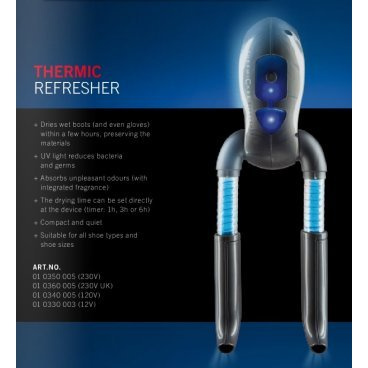 Сушилка Therm IC ThermicRefresher incl Timer 230V (14г 10350005)