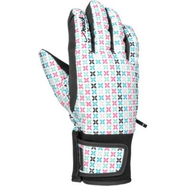 Перчатки подростковые  Reusch  Lilli GTX® Junior (15 г, white/multicolour new 4161353)