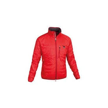 Куртка мужская FISCHER INSULAT JACKET GLACIER black/red (12 г, р-р.50/M, G14111)