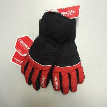 Перчатки детские REUSCH BERO R-TEXXT Junior fire/black (13 г, р.4,5, 4161244)