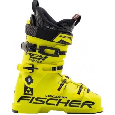 Горнолыжные ботинки FISCHER RC4 100 VACUUM FULL FIT-YELLOW/YELLOW (16/17 г, U10015)