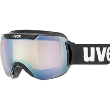 Очки горнолыжные UVEX downhill 2000 VLM Adult ski mask  black (17г., р.UNI, 0108-2023)