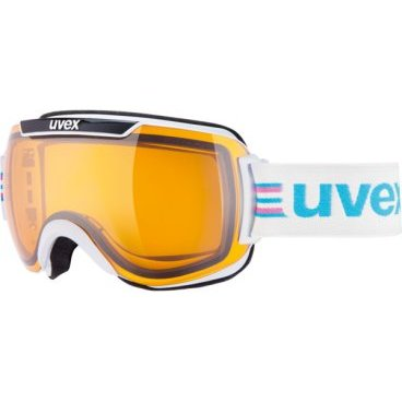 Очки горнолыжные UVEX downhill 2000 race Adult ski mask white black (17г., р.UNI, 0112-1229)
