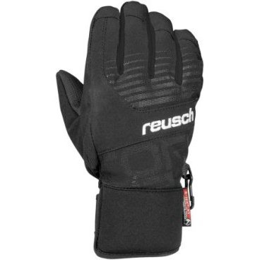 Перчатки Reusch Torbenius R-TEX® XT Jr black / knockout pink (16/17г, 4361210)