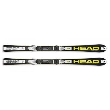 Комплект горнолыжный HEAD WC iRace Team SW black/neon yellow + SX 7.5 AC BRAKE 90 (16/17г, 314115)