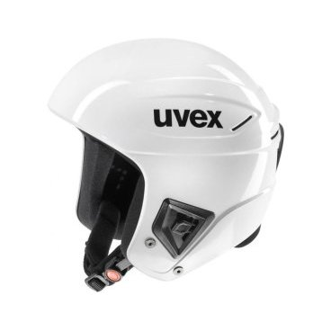 Шлем горнолыжный UVEX race Adult helmet white (17/18, 6172 white)