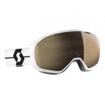 Горнолыжная маска Scott Fix LS white/black, light sensitive bronze chrome,TU (18/19, 267602-1035245)