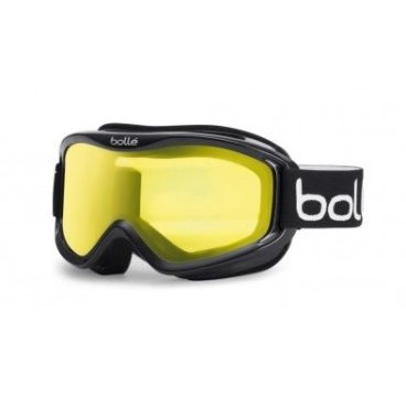 Маска горнолыжная Bolle MOJO SHINY BLACK LEMON, One Size (17/18, 20573)