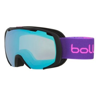 Маска горнолыжная Bolle ROYAL MATTE BLACK & PURPLE SPRAY AURORA, One Size (17/18, 21594)