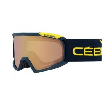 Маска горнолыжная CEBE FANATIC L BLUE & YELLOW NWT VARIOCHROM PERFO 13, One Size (17/18, CBG93)