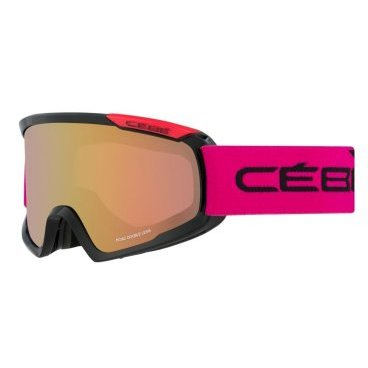 Маска горнолыжная CEBE FANATIC M BLACK & PINK, One Size (17/18, CBG99)