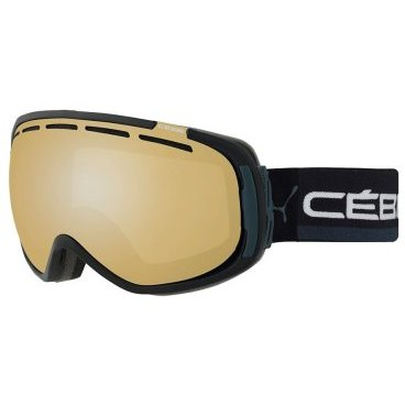Маска горнолыжная CEBE FEEL'IN FULL BLACK & GREY VARIOCHROM PERFO 1-3, One Size (17/18, CBG127)