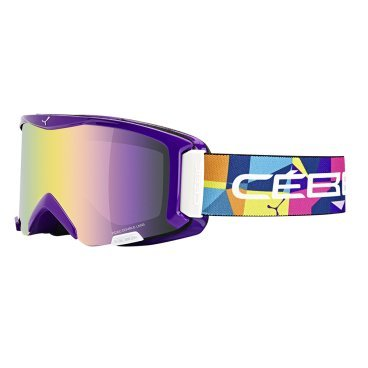 Маска горнолыжная CEBE SUPER BIONIC SPACE, One Size (17/18, CBG32)
