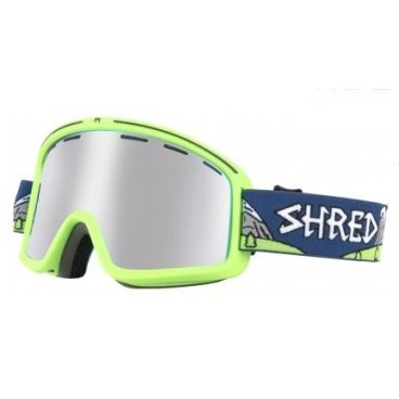 Маска горнолыжная SHRED MONOCLE NEEDMORESNOW PLATINUM, One Size (17/18, DGOMONH35B)