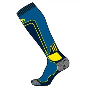 Носки горнолыжные MICO Technical sock merino wool ski prince (17/18, 114-203)