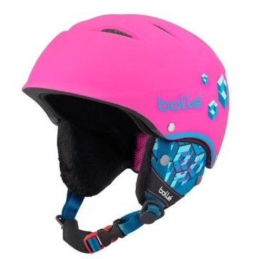 Шлем горнолыжный Bolle B-FREE Soft Neon Pink Blocks (17/18, 31468)