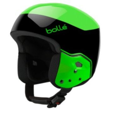 Шлем горнолыжный Bolle MEDALIST Black & Flash Green (17/18, 31394)