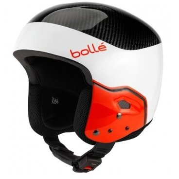 Шлем горнолыжный Bolle MEDALIST Carbon Pro White & Red (17/18, 31405)
