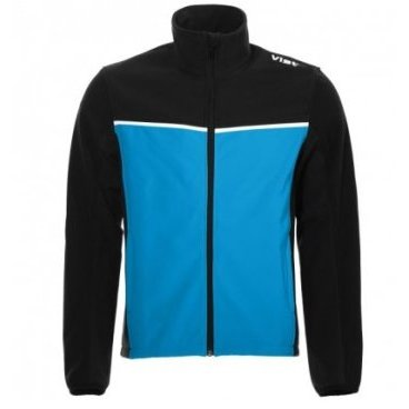 Куртка VIST VENTINA SOFTSHELL Junior water/black (17/18, S15J054W323)