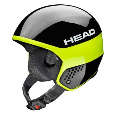 Шлем горнолыжный HEAD STIVOT RACE Carbon Black/lime (16/17, 320004)