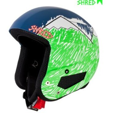 Шлем горнолыжный SHRED BRAIN BUCKET NEEDMORESNOW (16/17, DHEBBKG13)