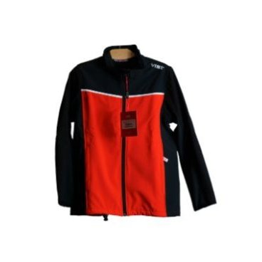 Куртка VIST VENTINA SOFTSHELL Junior red/black (16/17, S15J054W297)