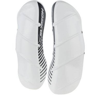 Защита голени SlyTech SHINGUARDS SHIELD STD, бело-черный (18/19, YSNSHGH12STD)