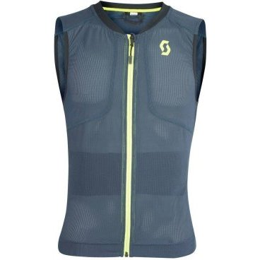 Защита спины Scott AirFlex M's Light Vest Protector blue nights/lime yellow (19/20, 271916-4296)