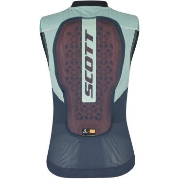 Защита спины Scott AirFlex W's Light Vest Protector blue nights/cloud blue (19/20, 271917-6278)