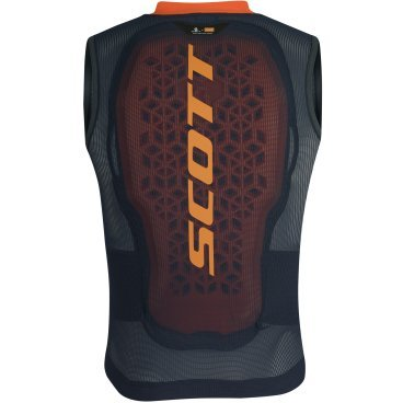 Защита для юниоров Scott AirFlex Jr Vest Protector blue nights/sweet orange (19/20, 271920-6320)